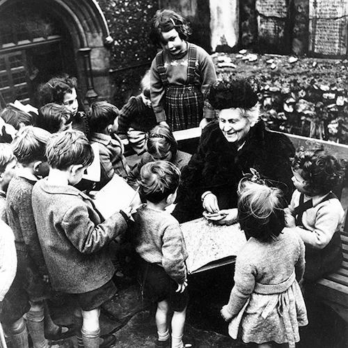 biographie de Maria Montessori